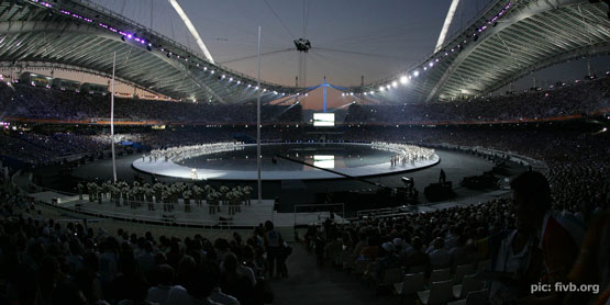 Opening of 2004 Athens Olympics