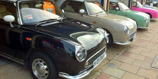Nissan Figaro Showroom