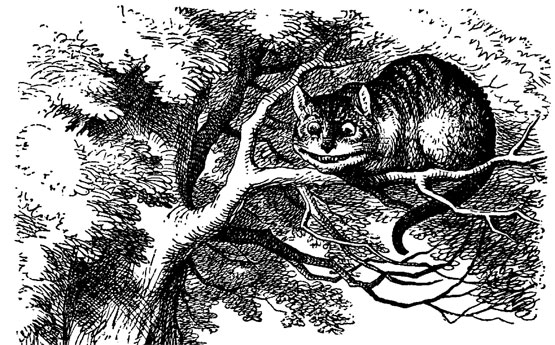 The Cheshire Cat by John Tenniel