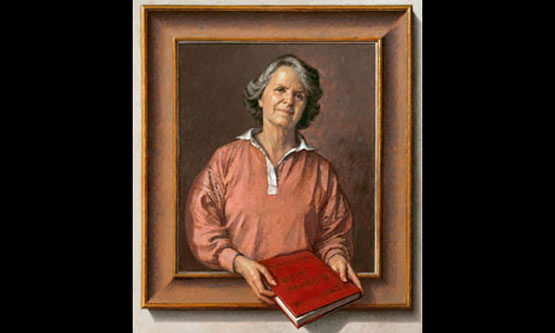 Vivien Noakes as portrayed by her husband, the painter Michael Noakes, in 1995. Photograph: AC Cooper Colour Ltd