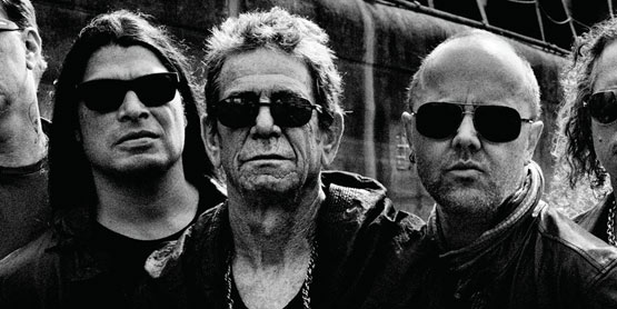 Lou Reed with Metallica