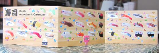 Sushi Avent Calendar