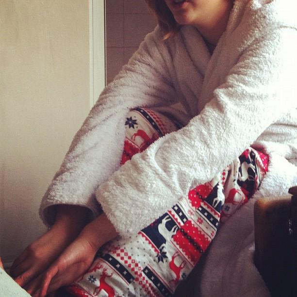 Child K's Christmas Pyjamas