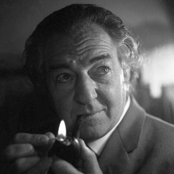 Rupert Davies as Maigret