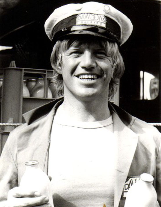 Robin Askwith promo photo for Bottle Boys
