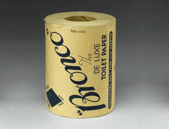 Bronco toilet paper