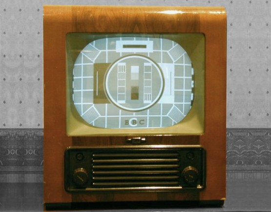 "Bush TV 24 monochrome television set with 12"" screen"
