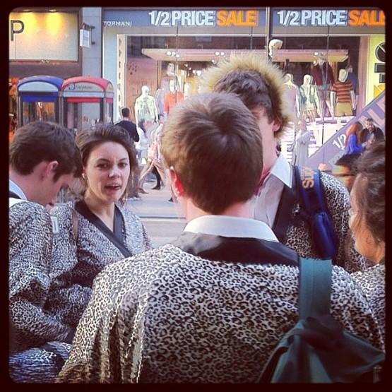 Oxford Street chuggers