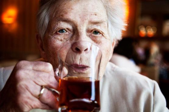Old German Woman