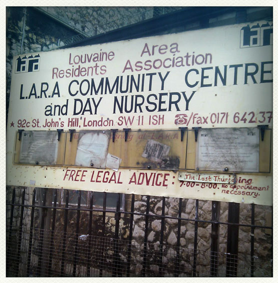 LARA Community Centre & Day Nursery: click to zoom