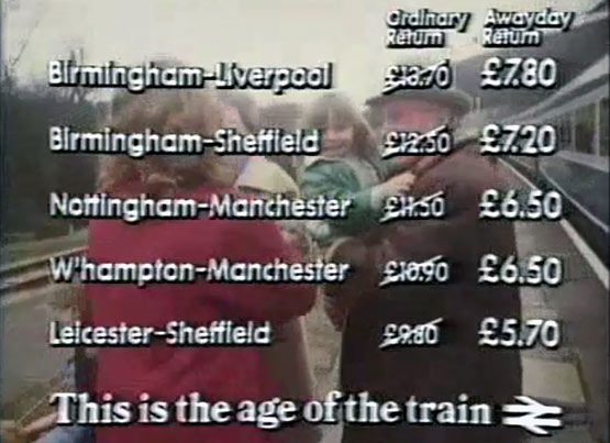 The Age Of The Train: click to view video