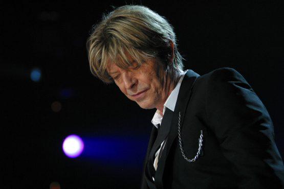 Photo of David Bowie at Montreux Jazz Festival 2002 ©Lionel Flusin